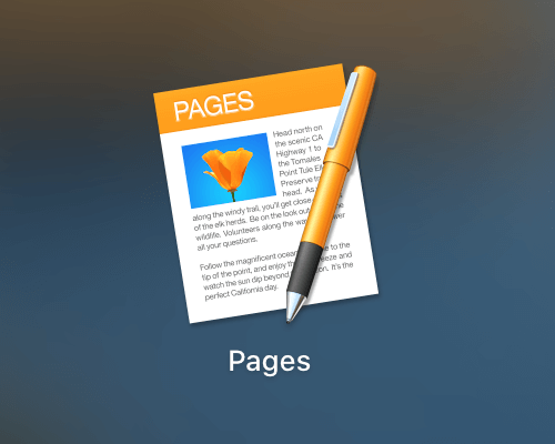 Pages app